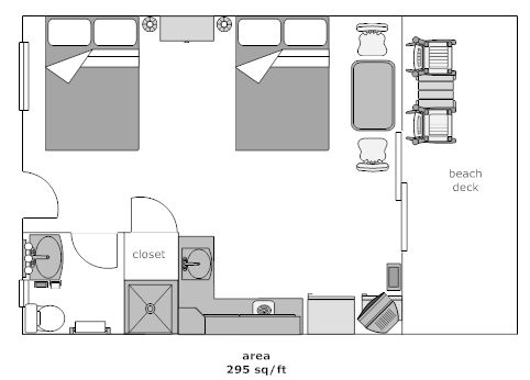 Bedroom Layout For Two Beds